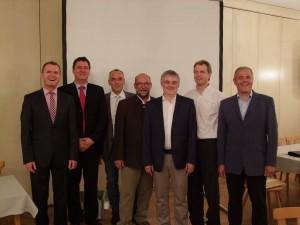 Die Vorstandschaft von Bengel-KEH eG